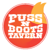 Puss N Boots Tavern Mobile Logo