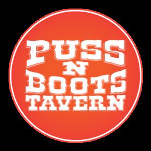 Puss N Boots Tavern Logo